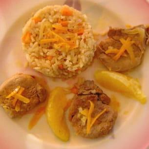 filet mignon de porc aux oranges