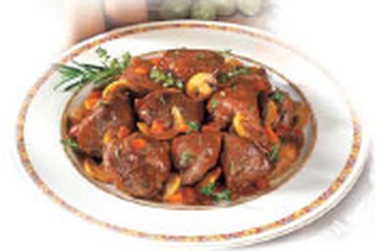 Chevreuil sauce grand veneur