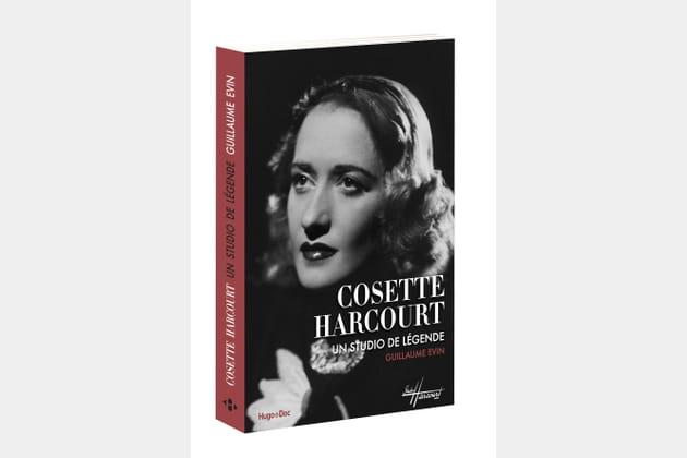 Cosette Harcourt en couverture de l'ouvrage de Guillaume Evin