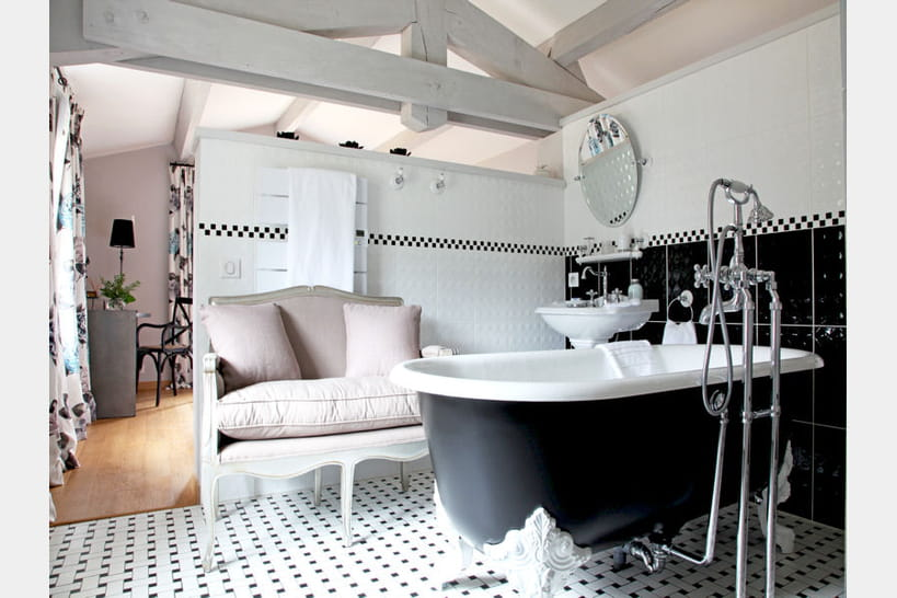Accessoires pour une salle de bains déco
