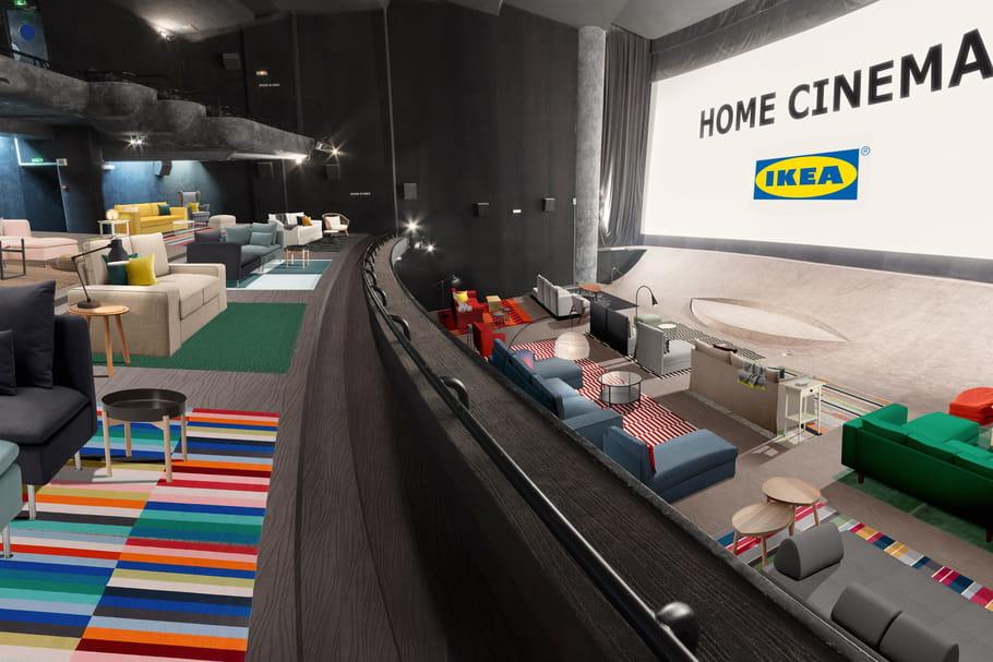 Ikeas'installe au cinéma Max Linder à Paris