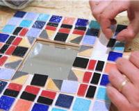 création d'un miroir en mosaïque