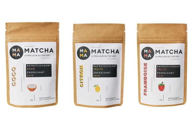 Les thés aromatisés Mama Matcha