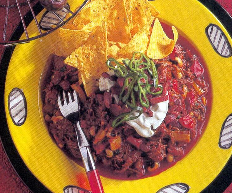 Recette de chili con carne maison la recette facile - Recette chili cone carne thermomix ...
