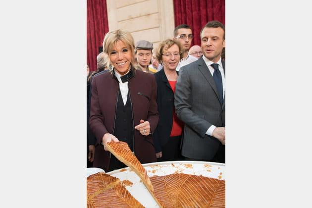 Brigitte Macron le 12janvier 2018