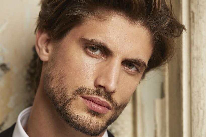 recherche modele homme coiffure)