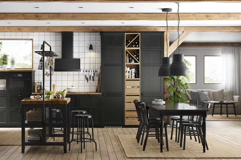 les nouvelles cuisines ikea nous mettent l 39 eau la bouche. Black Bedroom Furniture Sets. Home Design Ideas