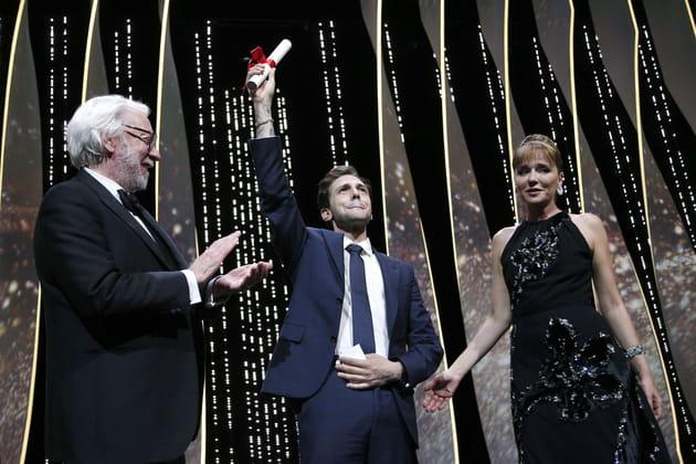 """Xavier Dolan, ému aux larmes après son Grand Prix pour """"Juste la fin du monde""""..."""