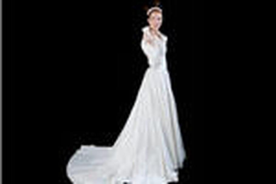 Christophe-Alexandre Docquin dévoile sa collection de robes de mariée