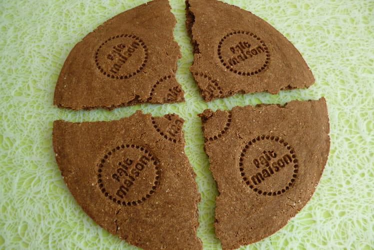 Biscuit diététique géant chicorée cacao châtaigne et lin chia psyllium