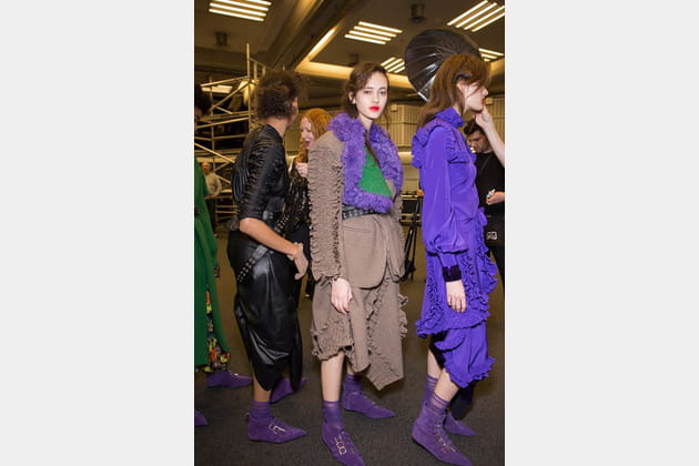 Preen By Thornton Bregazzi (Backstage) - photo 51