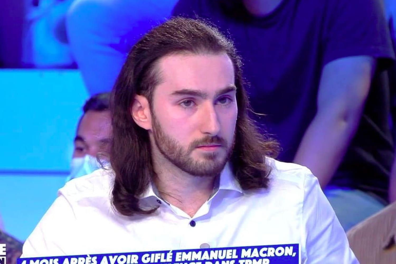 Damien Tarel a giflé Macron et choque dans TPMP