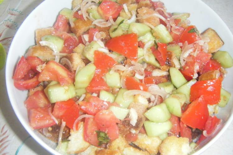 Panzanella (ou salade au pain)