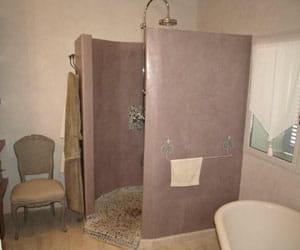 la salle de bains de karine