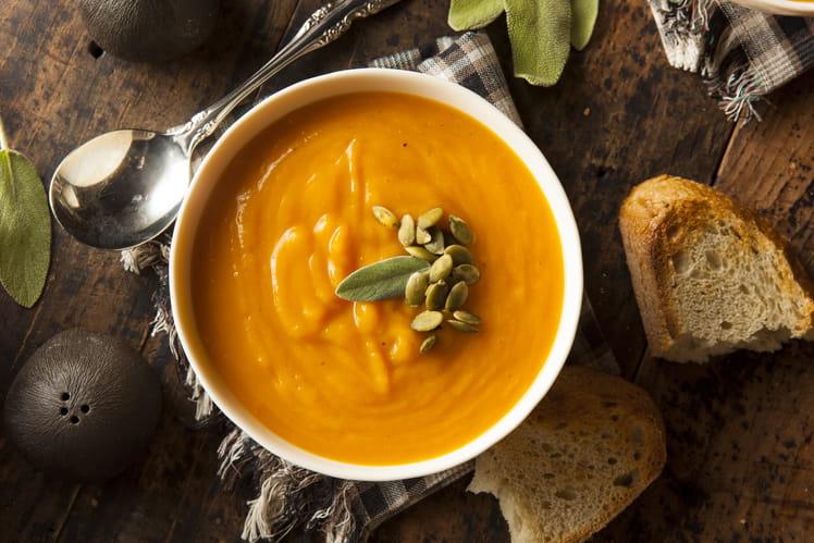Recette de soupe potimarron au thermomix la recette facile - Recette soupe thermomix ...