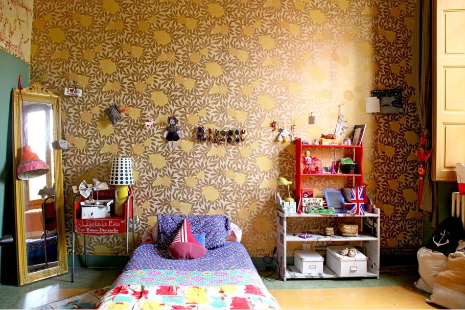 Une chambre d 39 enfant color e motifs for Chambre enfant coloree