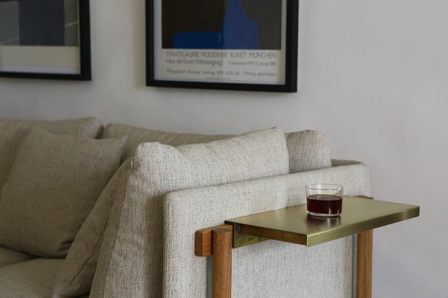 Canapé avec tablette par Neri&Hu pour De La Espada