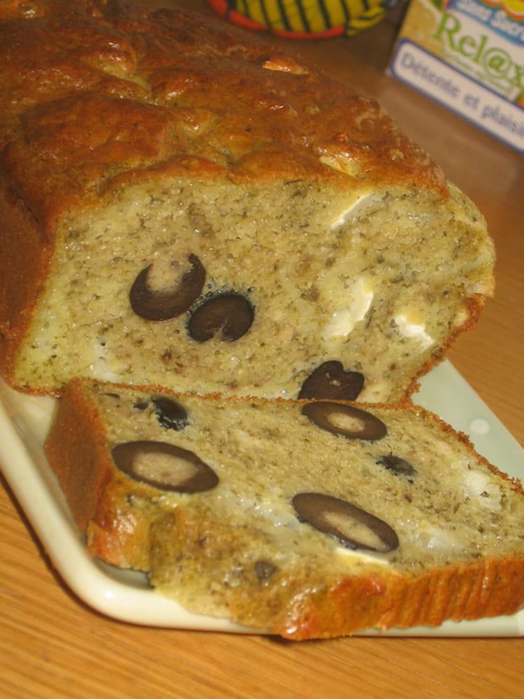 Recette Facile Cake Olives Chevre