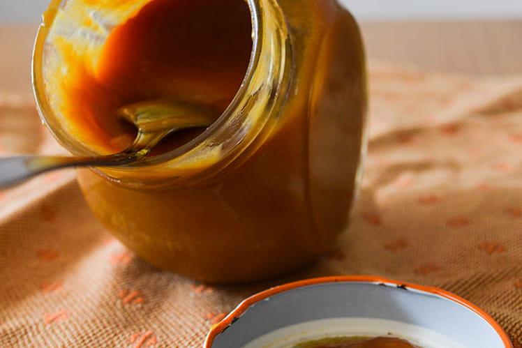 Caramel au beurre salé onctueux
