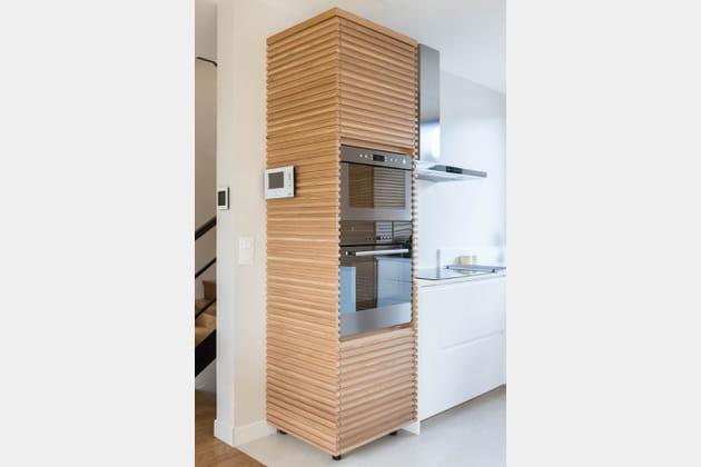 Touche de bois dans la cuisine