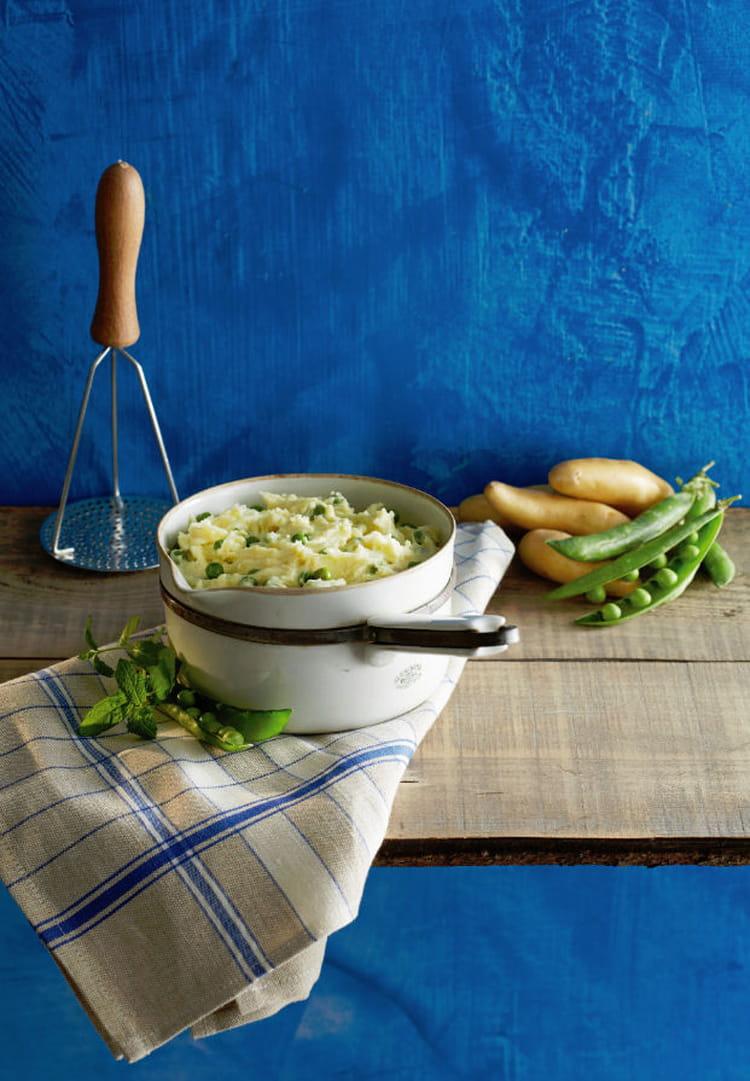 Recette de pur e de ratte du touquet aux petits pois et la menthe la recette facile - Cuisiner la ratte du touquet ...