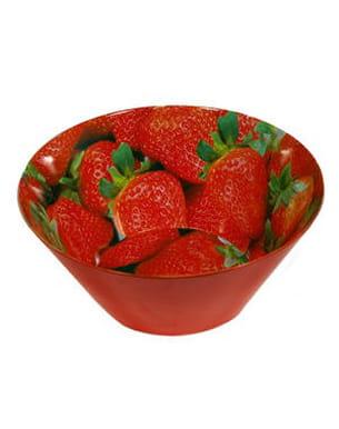 le saladier 'fraise' de maisons du monde