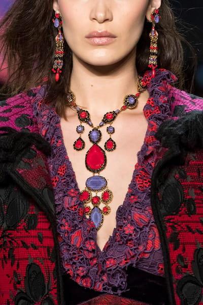 Anna Sui (Close Up) - Automne-Hiver 2018-2019