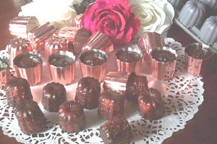 Canelés au chocolat