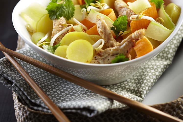 salade asiatique de pommes de terre ratte du touquet. Black Bedroom Furniture Sets. Home Design Ideas