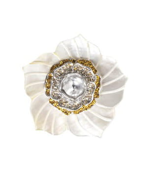 broche en nacre kmo jewel