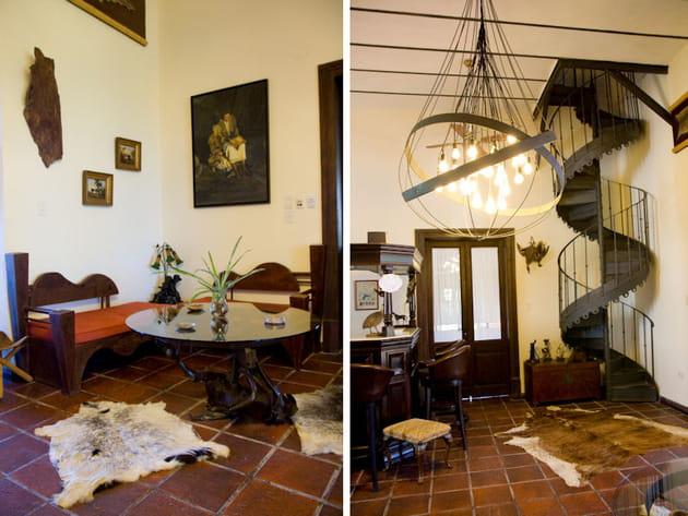 Tradition et modernit for Salon rustique moderne