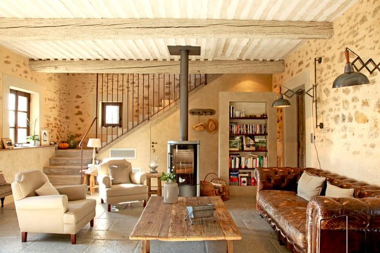 Je Veux Le Même À La Maison : Un Salon Cosy Avec Poêle À Bois
