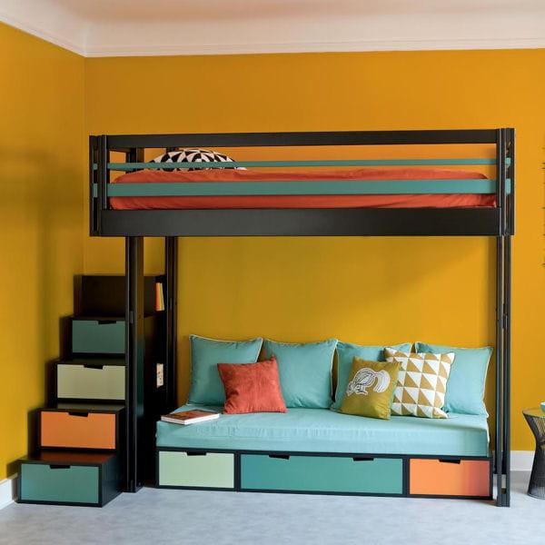 la mezzanine l 39 astuce gain de place. Black Bedroom Furniture Sets. Home Design Ideas