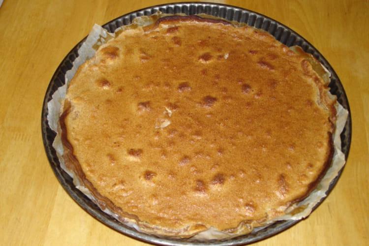 Tarte choco-praliné