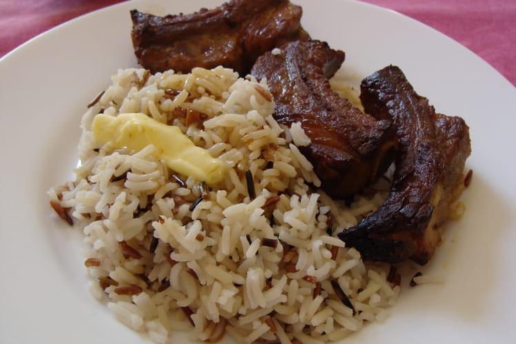 Recette de travers de porc marin s au four la recette facile - Cuisiner travers de porc ...