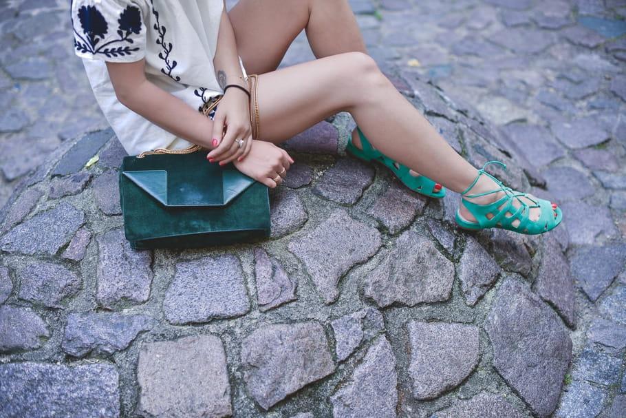 Le look blogueuse de la semaine : Leeloo en vert et contre le blues