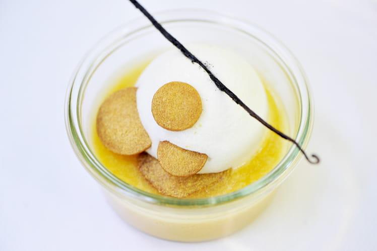 L'Île flottante mirabelle vanille
