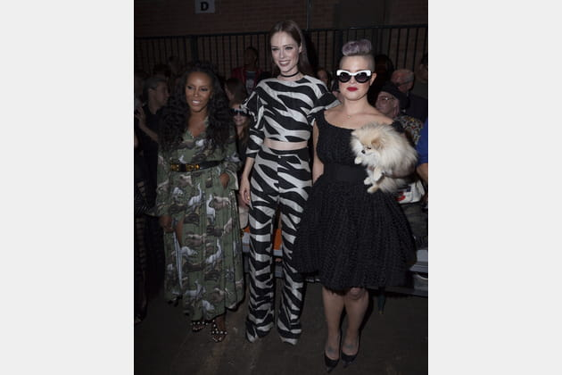 June Ambrose, Coco Rocha et Kelly Osbourne