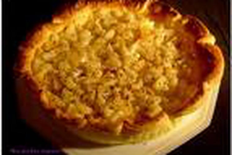 Tarte créole à l'ananas et à la noix de coco