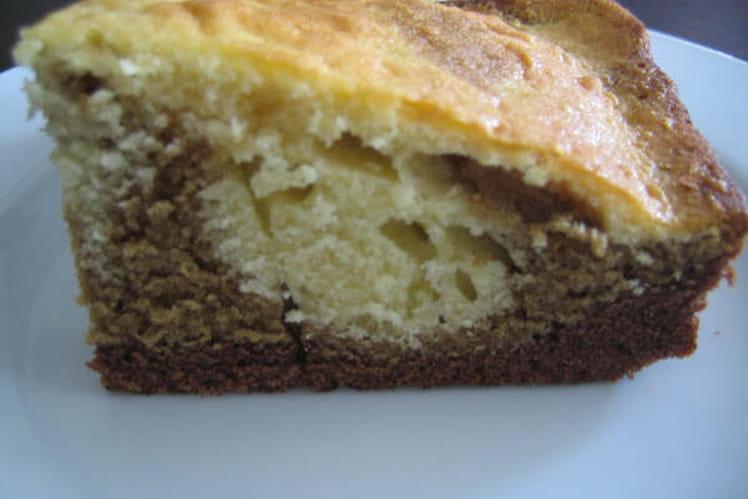 Marbré vanille-café-chocolat