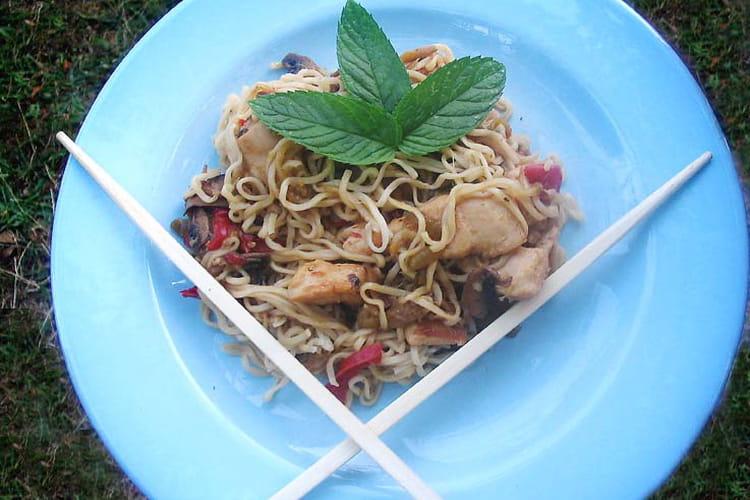 Nouilles chinoises au poulet : la meilleure recette