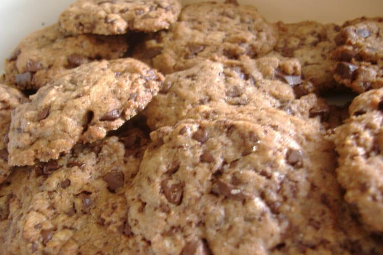 Cookies aux pépites de chocolat inratables