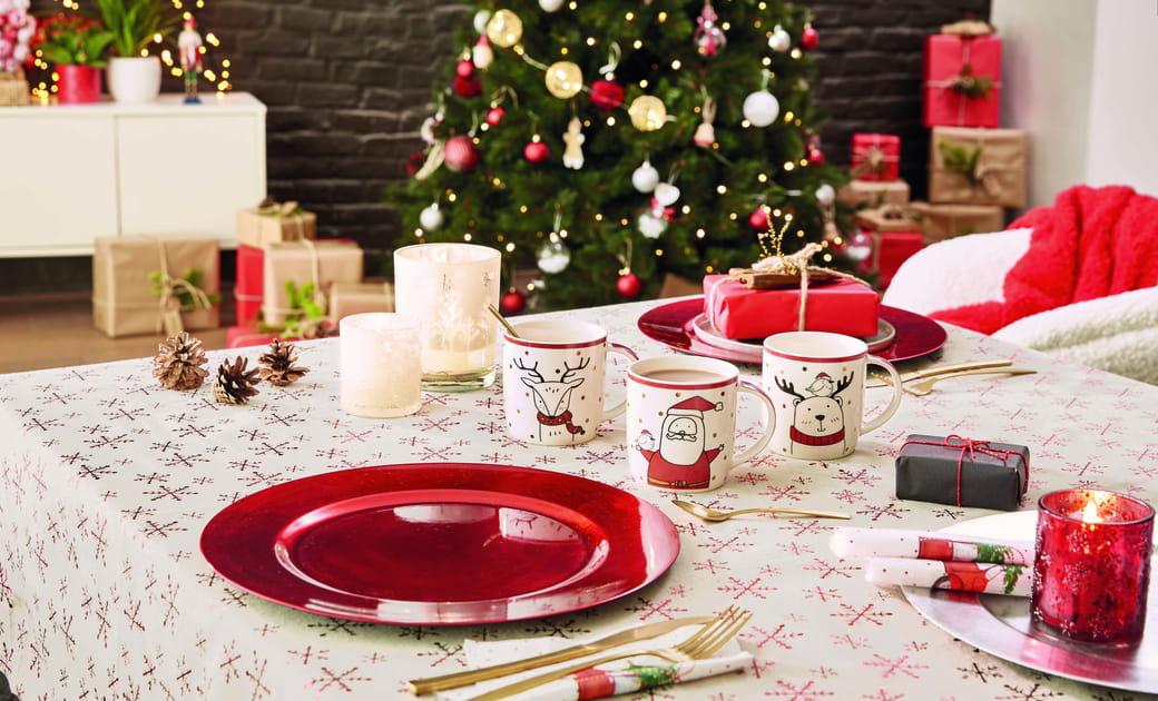 Miser sur la vaisselle de Noël