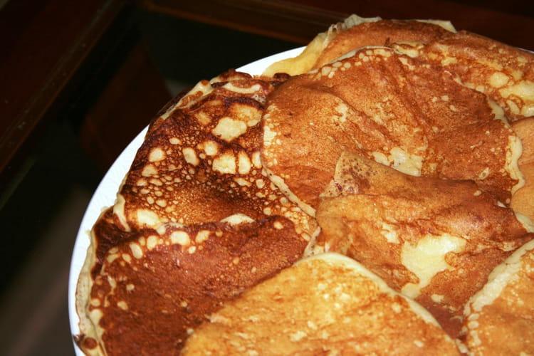 Pancake au lait fermenté