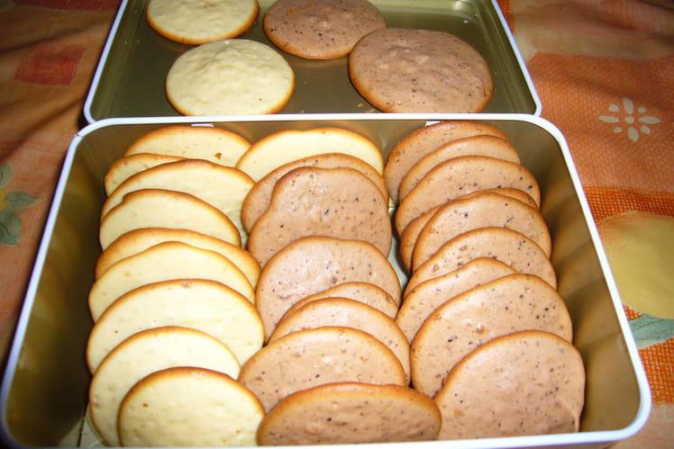 Petits gâteaux moelleux de maman Bruneaux