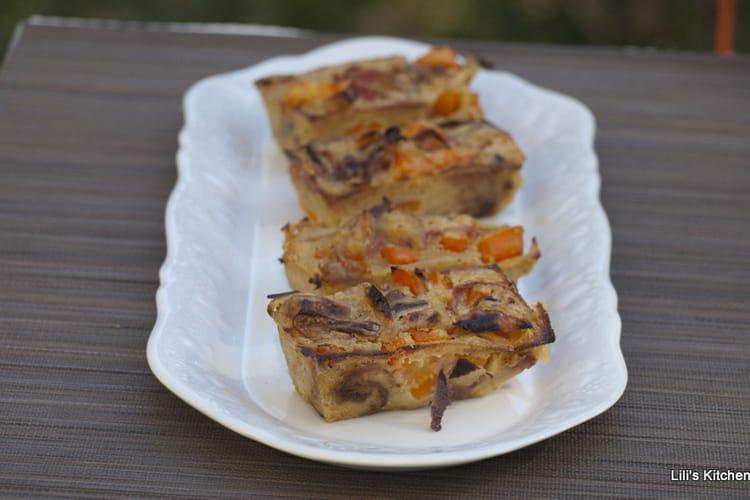 Clafoutis carotte, cumin, coco sans gluten