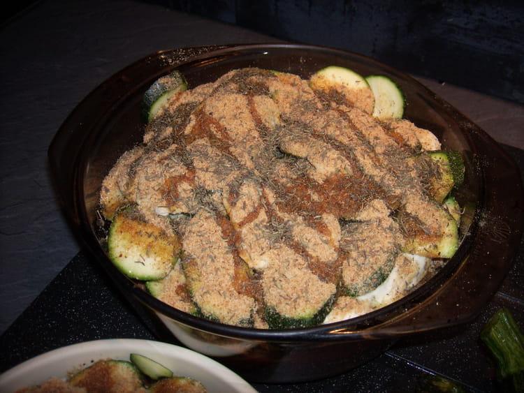 Recette de gratin de gourgettes la viande et mozzarella - Viande facile a cuisiner ...