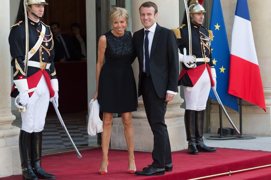 Emmanuel et Brigitte Macron, un tandem de style bientôt à l'Elysée?