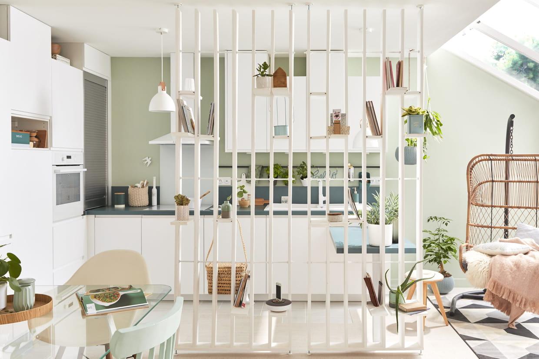 16 idées pour séparer la cuisine du salon