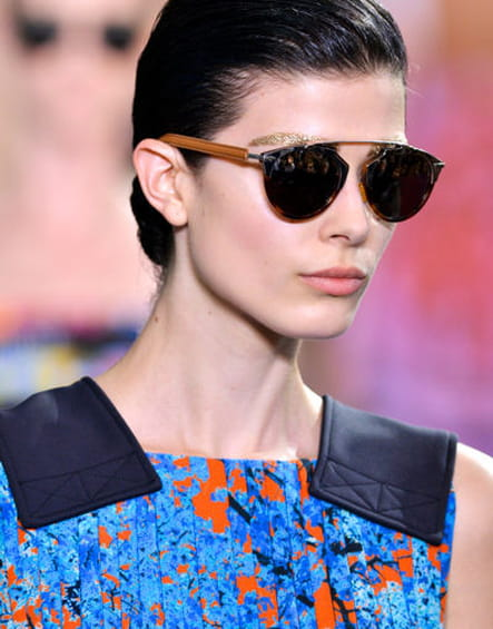 Défilés été 2014 : les lunettes de soleil nous font les yeux doux